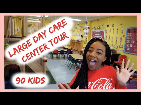 LARGE DAY CARE CENTER TOUR | HOW TO SET UP YOUR CHILDCARE OR PRESCHOOL BUSINESS | ChildCareSites.com