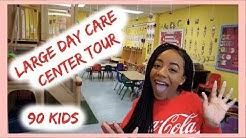 LARGE DAY CARE CENTER TOUR | HOW TO SET UP YOUR CHILDCARE OR PRESCHOOL BUSINESS
