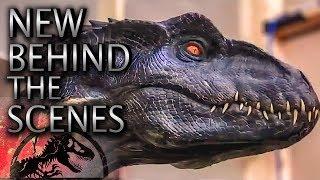 Behind the Scenes | New ANIMATRONICS| Jurassic World: Fallen Kingdom (2018) Chris Pratt, Bryce How