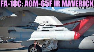 FA-18C Hornet: (Out Of Date) AGM-65F IR Guided Anti-ship Maverick | DCS WORLD
