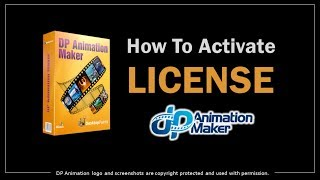 How to Activate License in DP Animation Maker