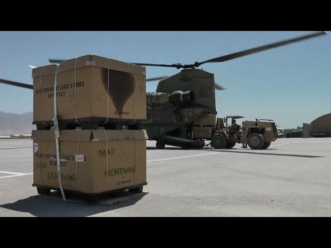 Last post: US mail service winds down in Afghanistan