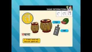 Learn Hindi Alphabet (hindi varnamala) (PART- 6)