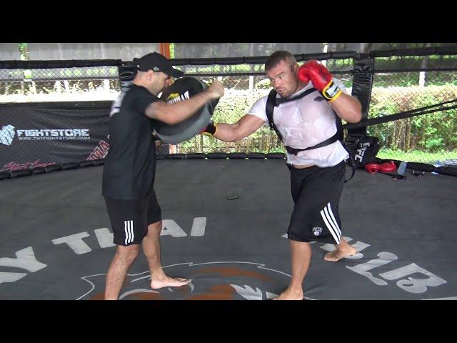 Anatoly Malykhin punch power work with John Hutchinson
