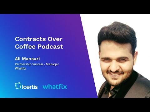 Contracts over Coffee with Whatfix and Ali Mansuri