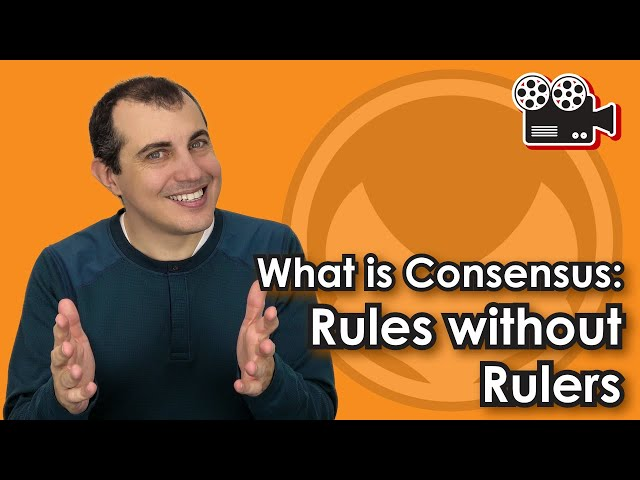 What is Consensus: Rules without Rulers