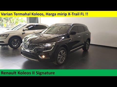 Renault Koleos II Signature review - Indonesia