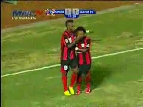 Persipura Santos FC (2-1) Goals + Highlight - 3 Oktober