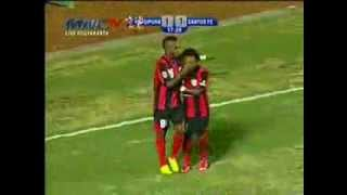 Persipura vs Santos FC (2-1) Goals + Highlight - 3 Oktober 2013