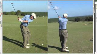 How to practice golf and make DRAMATIC VISIBLE Golf Swing Changes to Improve your Swing