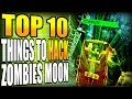 TOP 10 Things to HACK on MOON | Zombies Chronicles Black Ops 3