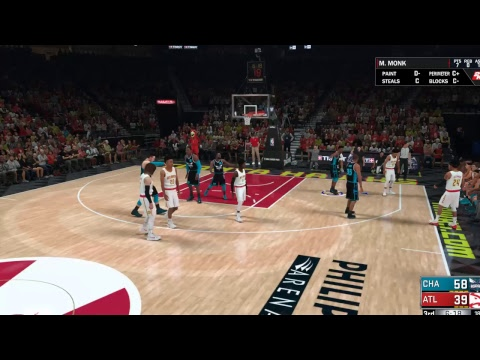 NBA 2K18 - My League Gameplay  CHARLOTTE HORNETS