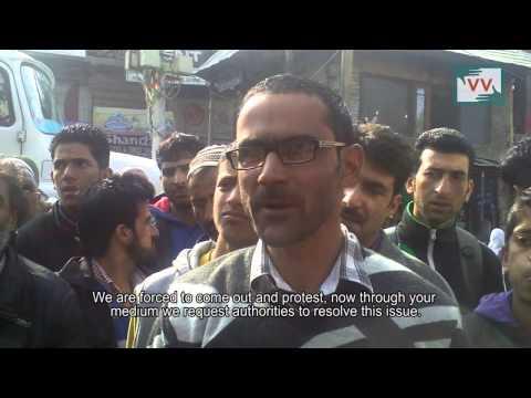 No Water in Sheeri village of Baramulla. Yasin Mir reports from Kashmir