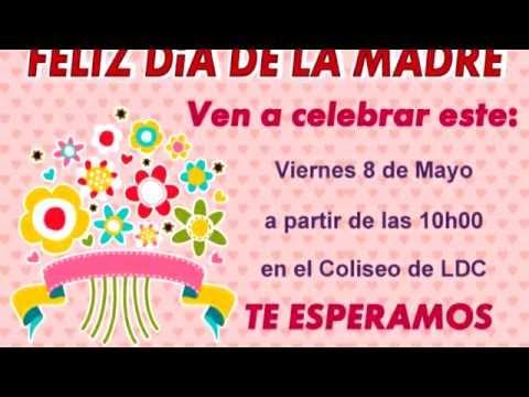 Invitación A Homenaje Por El Día De La Madre