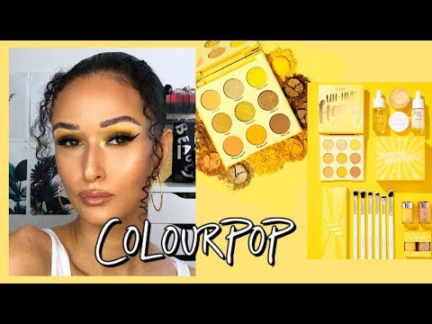 COLOURPOP UH-HUH HONEY COLLECTION| REVIEW + DEMO - YouTube