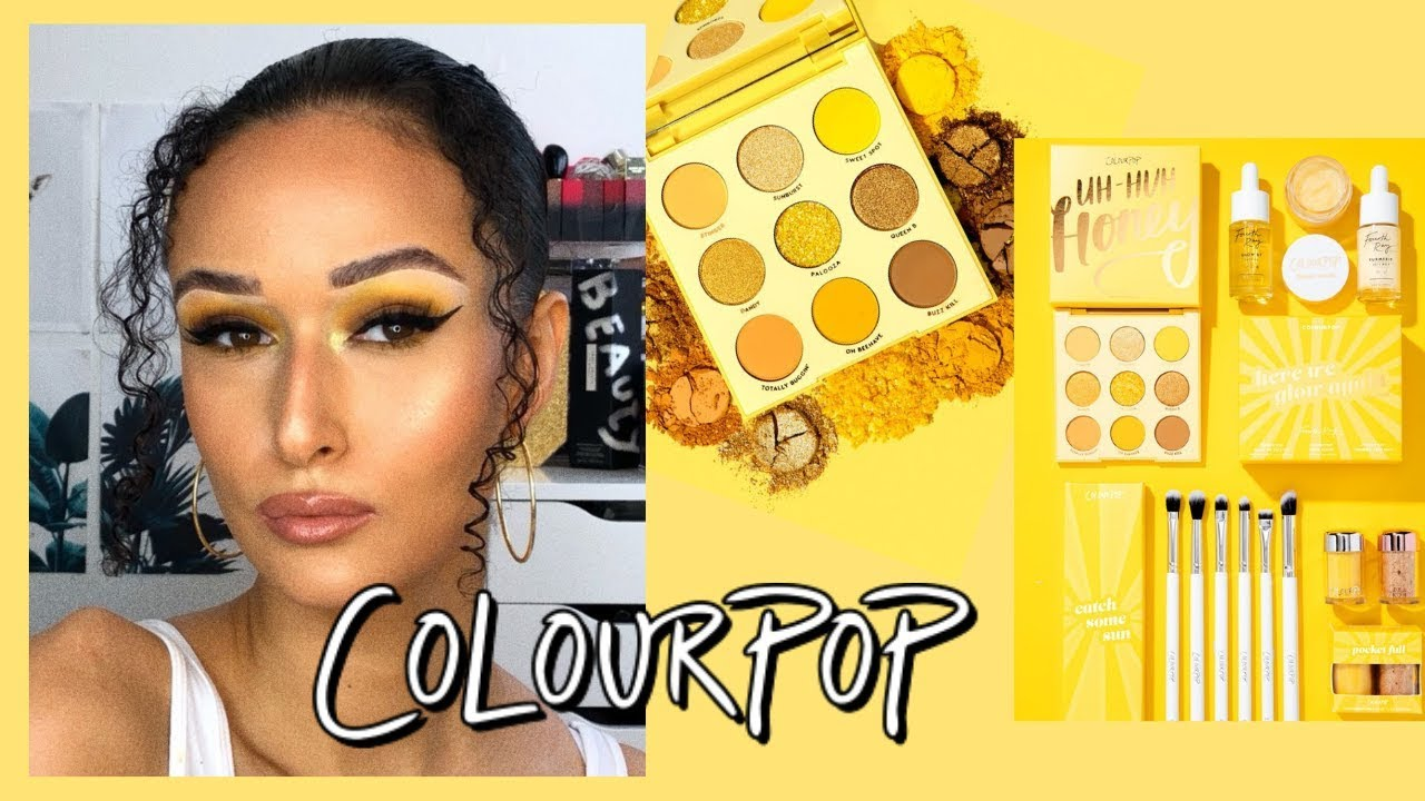COLOURPOP UH-HUH HONEY COLLECTION| REVIEW + DEMO