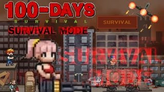 100 DAYS - Zombie Survival | Survivor Mode | ENDING