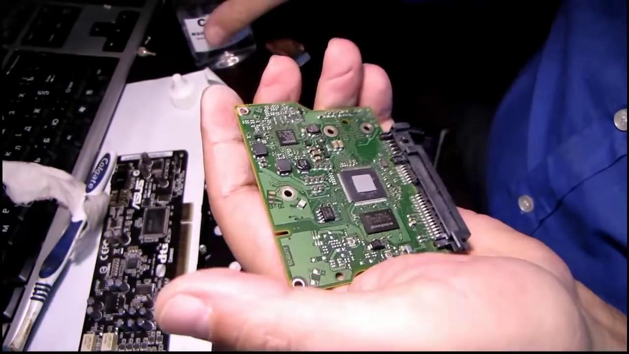 Ремонт HDD Seagate -  не определяется