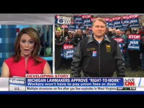 Hoffa Vows To Fight Right-To-Work-For-Less In Michigan