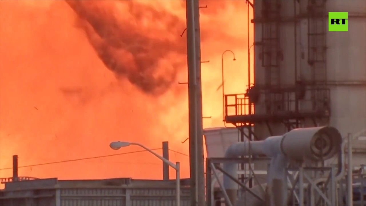 Second blast rocks burning Texas chemical plant, 60,000 people ordered to flee