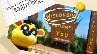 Fnaf Plush - Golden Freddy's Roadtrip to Wisconsin!!