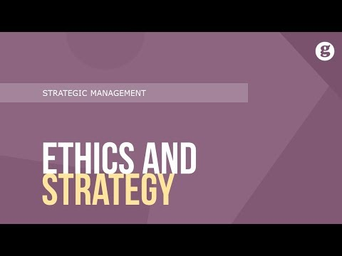 Ethics And Strategy