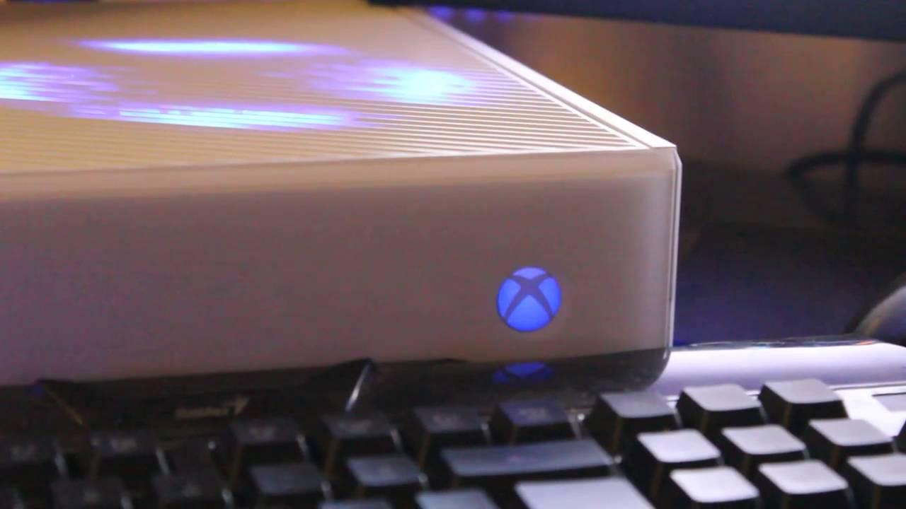 Gold Slim RGH + Xbox One LED Customization