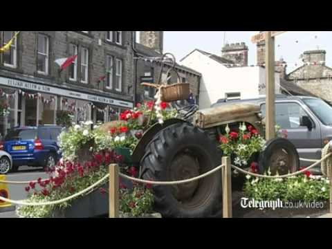 The Yorkshire town of Hawes prepares to welcome the Tour de France
