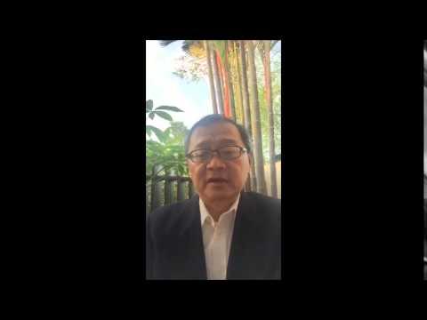 Christopher Khoo on the CTO Singapore Model of Tourism Workshop