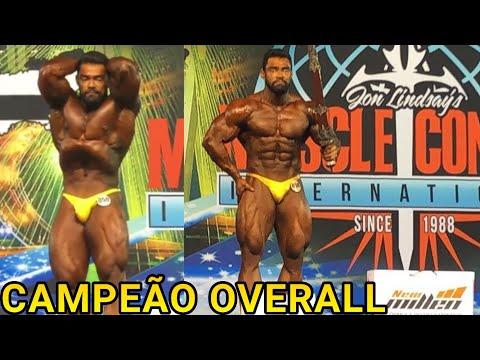 ATLETA DO BALESTRIN BRUNO SANTOS CAMPEÃO OVERALL NO MUSCLECONTEST