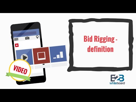 Bid Rigging - definition
