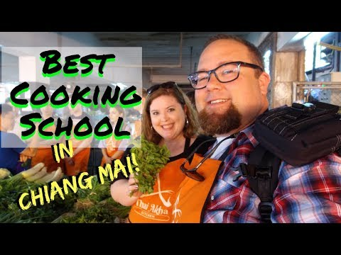 Best Cooking School In Chiang Mai! | Thailand Travel Vlog