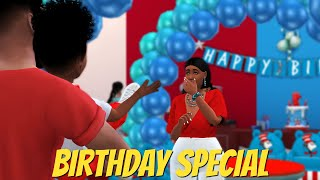 TWINS 1st BIRTHDAY PARTY Machinima 🎮HOP SKIP WED  Sims 4 Story