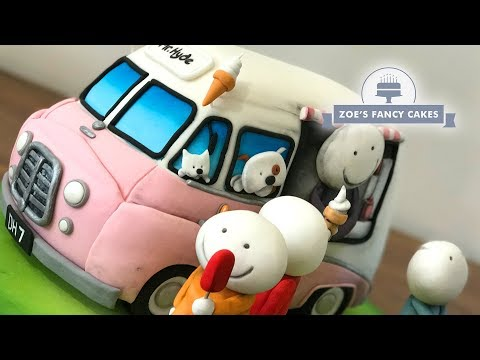 Doug Hyde Summertime Cake Tutorial (ice Cream Van Cake)