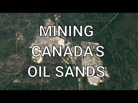 Mining Canada's Oil Sands - How The Area Changed Over The Years 😮