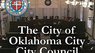 Oklahoma City City Council - November 18, 2014. Thumbnail