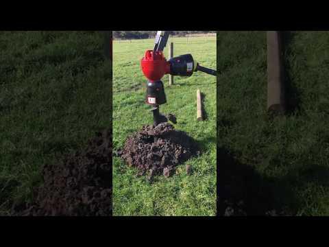 Kanga Farm Equipment H Range Post Hole Digger