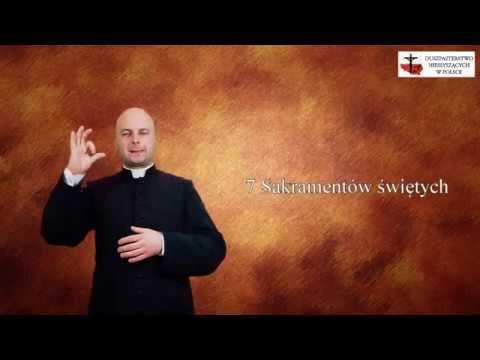 Modlitwy migane - 7 Sakramentów świętych