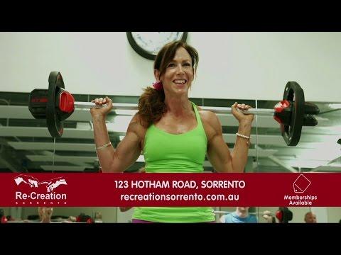Re-Creation Health Club - Cinema Advertisement
