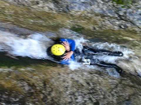 Canyoning With Amigo Soca River Bled Slovenia Experience