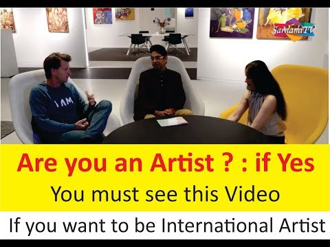 Are you an Artist ?  : If Yes, You must see this video : Exhibition Coverage