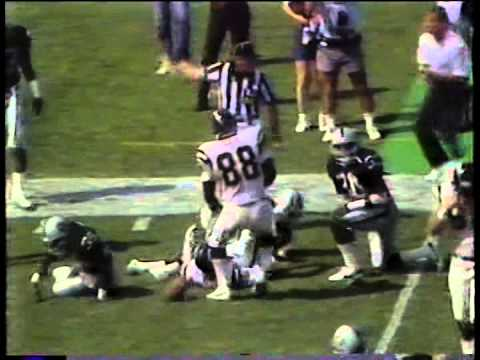 Chargers vs. Raiders, 1988 opener