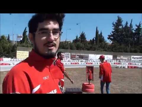 24 F1 Fans Kart Challenge Athens 2016 - Race 10 - Group 2
