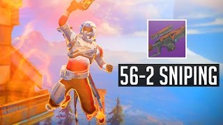 Destiny Combined 56-2 Sniping Gameplay (28 K/D)
