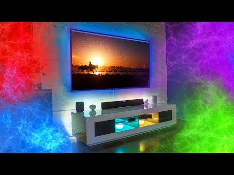 The Mind Blowing Color Changing Smart Home Setup!