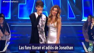 Fenómeno Fan (T2) | Lágrimas en la despedida de Jonathan