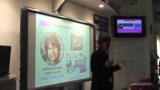 Children's Laureate, Anthony Browne discusses the importance of pictures books
