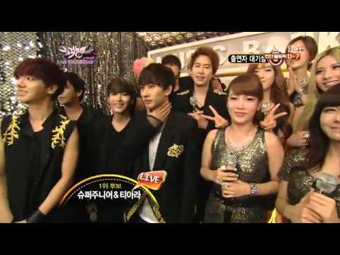 [HD] 120720 T-ARA & Super Junior - Waiting Room @ KBS Music Bank