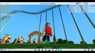 Tengo mi propio parque - roblox Theme Park Tycoon 2