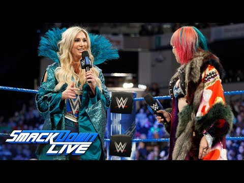 Asuka explains why she chose to face Charlotte Flair at WrestleMania: SmackDown LIVE, March 13, 2018